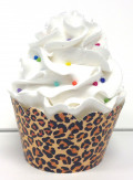 Wild Animal Print Party Cake and Cupcake Supplies