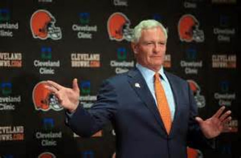 Browns had hoped owner Jimmy Haslam would be their savior.  He has turned out to be another buffoonish owner leaving Browns fans frustrated.