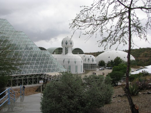 Located half an hour outside Tucson, Arizona, the Biosphere is the largest closed system created by humans.