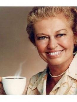 Mrs. Olsen--Folger's coffee