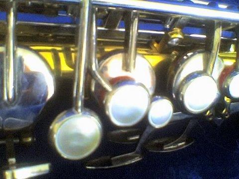 my alto saxophone, detail
