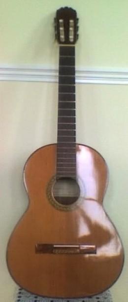 my taurus classic guitar, built 1970