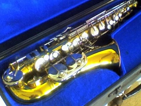 my 'entry level' alto saxophone