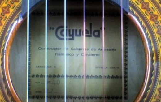detail - the label, cayuela, 1997