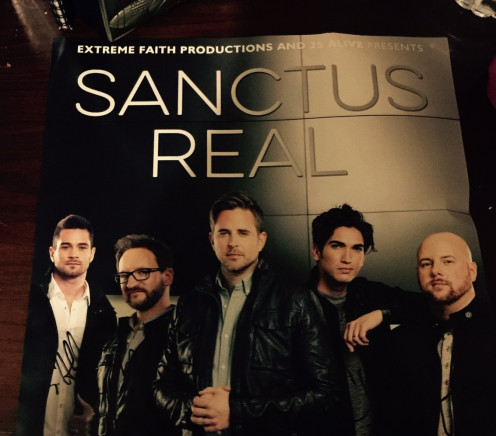 Poster of the group 'Sanctus Real'