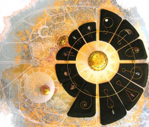 """""""New Gardens Plan"""" (Auroville.org)"""