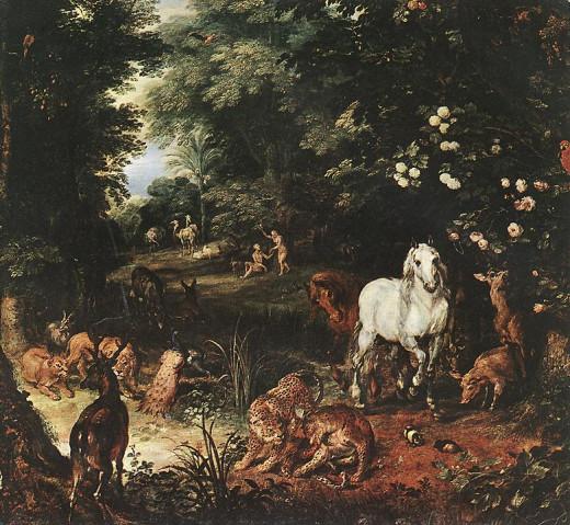 Brueghel's concept of the original Original Sin