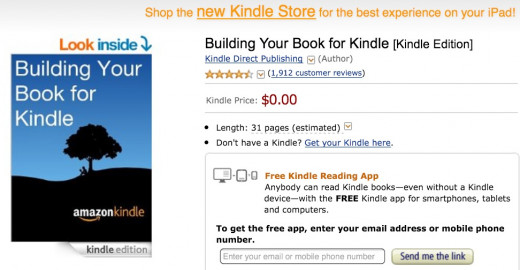 My experience with publishing my first kindle ebook hubpages even if you have never used word before you could figure out how to optimally format your manuscript for kindle with this resource fandeluxe Image collections