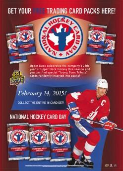 Upper Deck National Hockey Card Day 2015