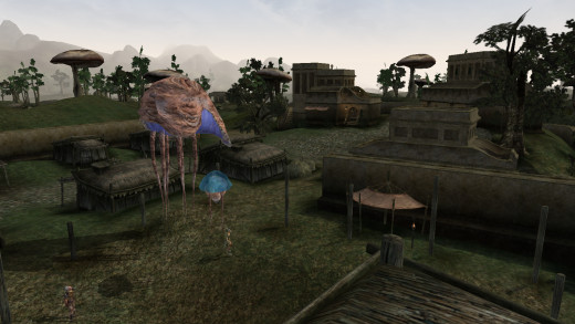 Slavery may not be key to the main plot, but it's still a very common sight in Morrowind.