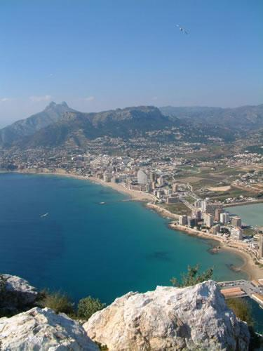 Marina Alta Coastline
