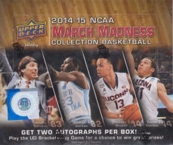 Upper Deck 2014-15 NCAA March Madness Collection Basketball cards