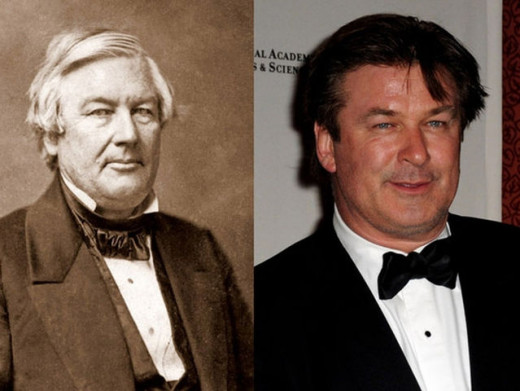 Alec Baldwin and Millard Fillmore: If you still do not believe in doppelganger phenomena watch this.