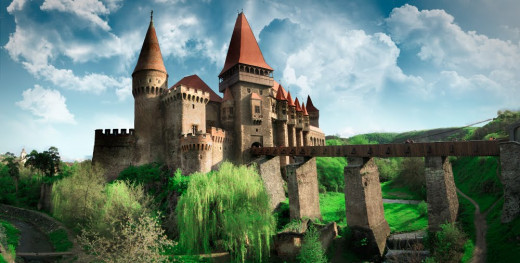 Hunedoara Castle.