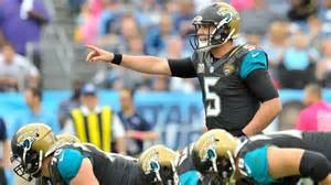 Things are bad in Jacksonville but could turn around with the growth of QB Blake Bortles.