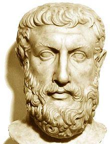 Parmenides of Elea, 6th century B.C.