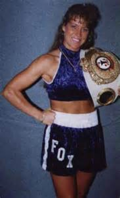 Hannah Fox gave her all every time she entered the squared circle.