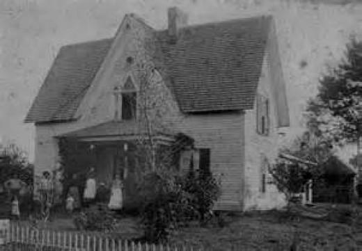 1890's style farm house
