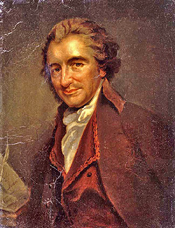 """He that would make his own liberty secure, must guard even his enemy from oppression; for if he violates this duty, he establishes a precedent that will reach to himself.""  - Thomas Paine"