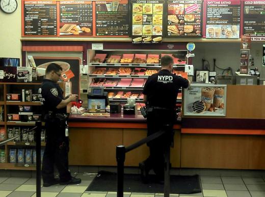 All the cops in the donut shops say: Wayo wayo oh-wayooooooooooo.