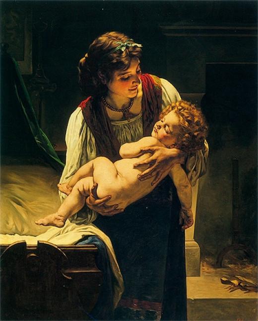 """""""Motherhood"""" 1860s"""