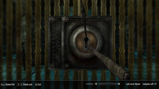 Bethesda attempted to fix their overly easy lockpicking minigame by replacing it with another, just as easy lockpicking minigame.