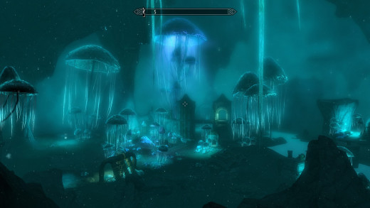 Like many of the cooler areas in Skyrim, Blackreach deserves to be twice as large as it is.