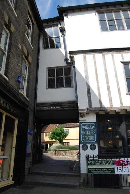 Tombland Alley, Norwich