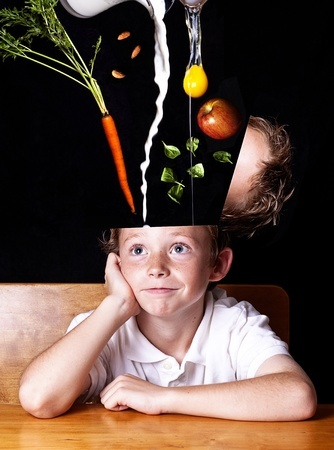 Good nutrition will feed your brain for better health.