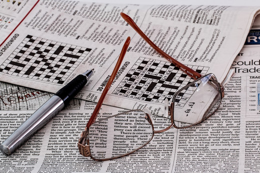 Doing a word puzzle on your coffee break can help boost your mental alertness at work.