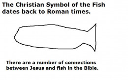 The symbol of the fish.