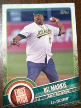Most of the other subjects in this set are current - where did the A's find Biz Markie??