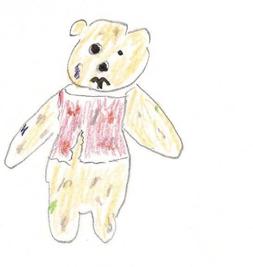"""GRAPHIC WARNING: image taken from the """"Ewbie"""" Hub """"Pooh Takes Christopher Robin Home""""."""