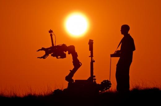 Robotics engineers design, build and maintain robots.