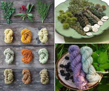 Herbal threads for clothes made from Plants