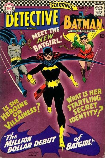 Batgril comic book cover