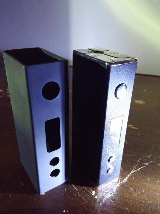 Sigelei Mini 30w next to rubber case