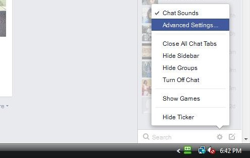 Facebook Advanced Settings