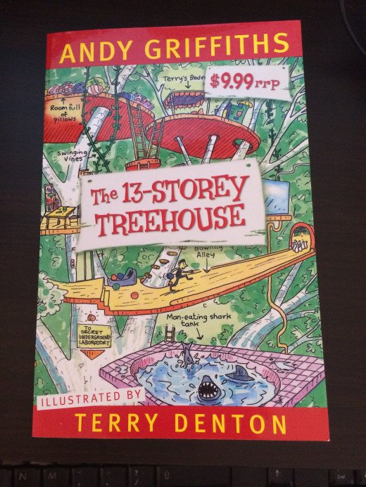 The first book in the Treehouse series