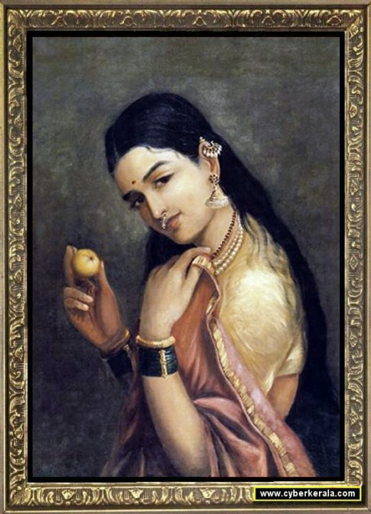 A Lady with a Fruit