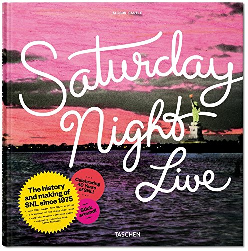 Cover of the book, ''Saturday Night Live''