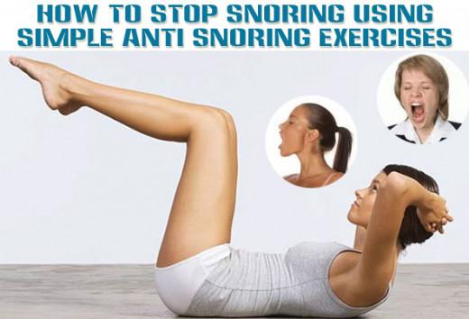 Snoring Exercises