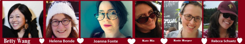 Images of The Hubpages Editors. Betty wang, Joanna Fonte, Katie Harper, Rebecca Schuetz Kate Rix  Helena Bonde