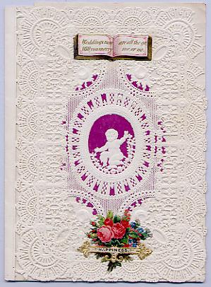 An Esther Howland Valentine Card circa 1850
