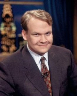 Andy Richter on Conan. Not so great.