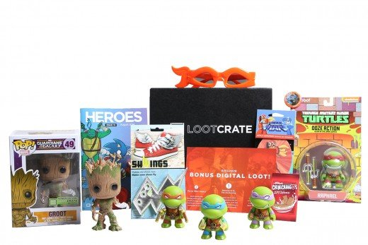 AUGUST CRATE THEME: HEROES 2014