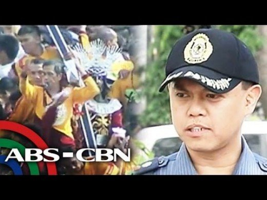 Cops secure devotees during procession