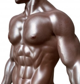 Toned abs are under everyone's layer of fat. You just have to work on revealing them.