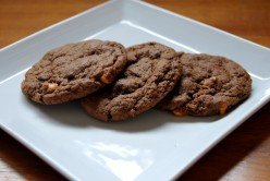 Island Bites: Double Chocolate & Butterscotch chips Cookies