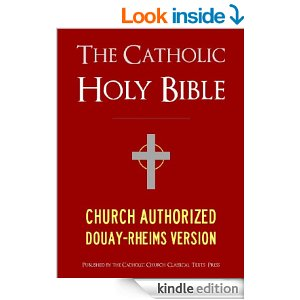 Click on the CATHOLIC BIBLE photo to see just how a Catholic Bible is different.